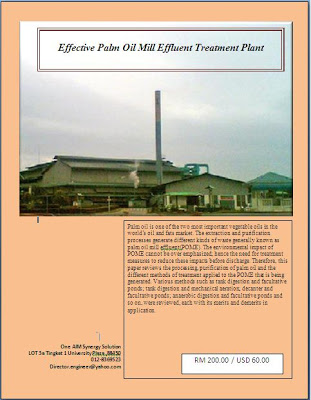 Effective Effluent Treatment in Palm Oil Mill